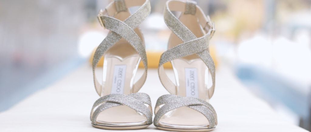 Jimmy Choo Wedding Shoes - Olympic Lagoon Resort, Paphos
