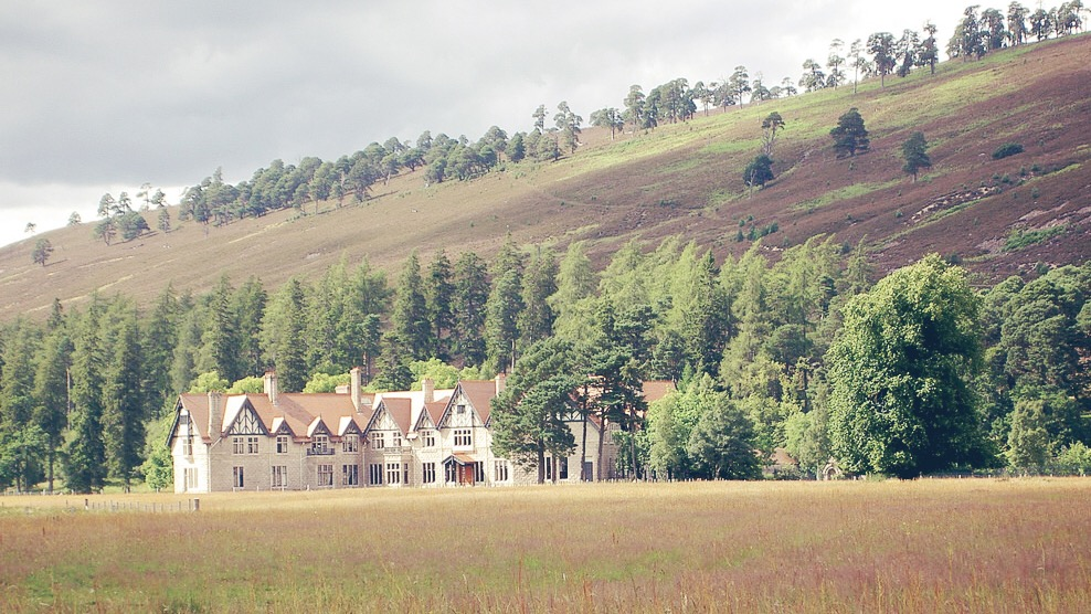 Scottish Movie Locations where you can get married - Mar Lodge Estate - The Dark Knight Rises