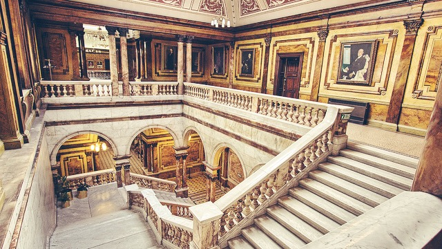 Scottish Movie Locations where you can get married - Glasgow City Chambers - World War Z