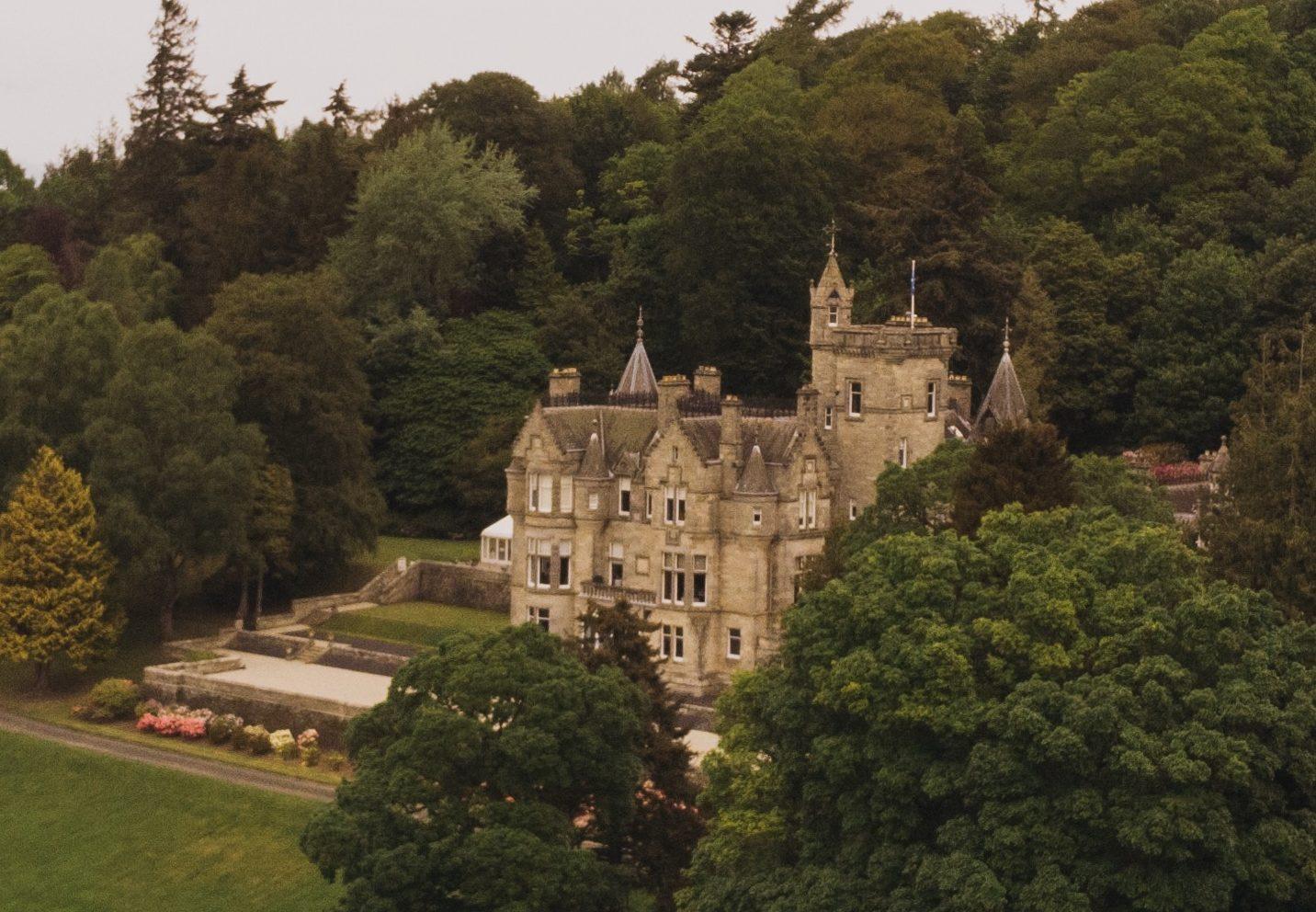 Kinnettles Castle Angus Wedding Venue
